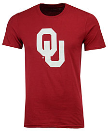 New Agenda Men's Oklahoma Sooners Big Logo T-Shirt