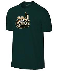New Agenda Men's Charlotte 49ers Big Logo T-Shirt