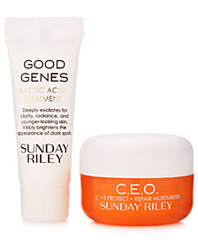 Receive a FREE 2pc Skin Care Gift with $125 Sunday Riley Purchase!