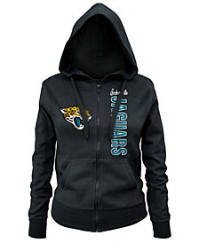 5th & Ocean Women's Jacksonville Jaguars Full-Zip Hoodie