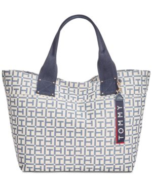 CLASSIC TOMMY POCKET LOGO CANVAS TOTE