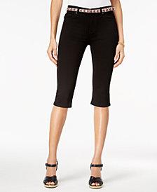 Lee Platinum Petite Stretch Denim Capri Jeans