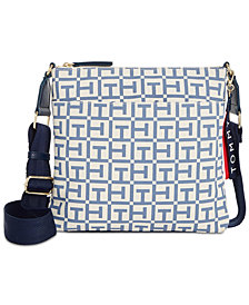 Tommy Hilfiger  Classic Logo Canvas Crossbody