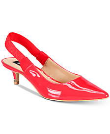 DKNY Doris Slingback Pumps, Created for Macy's