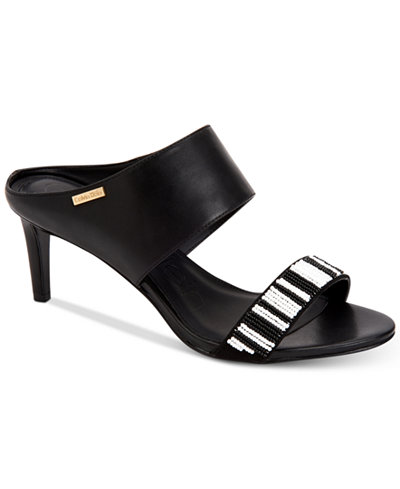 Calvin Klein Women's Cecily Dress Sandals,Created For Macy's