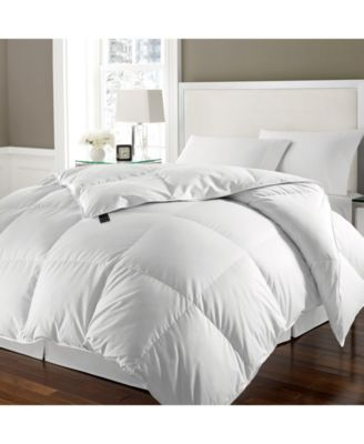 ELLE Home White Goose Feather & Down Twin Comforter