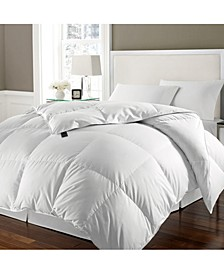White Goose Feather & Down Twin Comforter