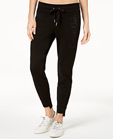 Calvin Klein Performance Step-Hem Ankle Joggers