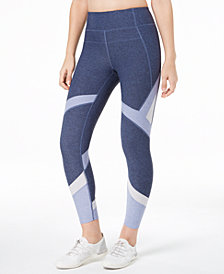 Calvin Klein Performance Colorblocked High-Rise Compression Leggings