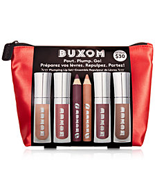 Buxom Cosmetics 7-Pc. Pout. Plump. Go! Sexy Plumping Lip Set, Created for Macy's