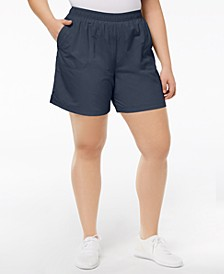 Plus Size Sandy River™ Shorts