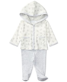 Ralph Lauren Cotton Hoodie & Pants Set, Baby Boys & Girls