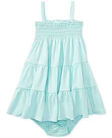 Polo Ralph Lauren Smocked Dress, Baby Girls