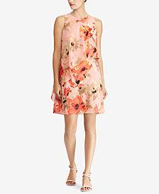 Lauren Ralph Lauren Petite Floral-Print Dress