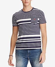 Polo Ralph Lauren Men's Classic Fit Striped T-Shirt
