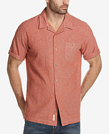 Weatherproof Vintage Men's Linen Cotton Shirt