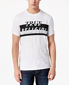 True Religion Men's Stripe Logo-Print T-Shirt