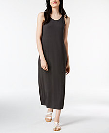 Eileen Fisher Stretch Jersey Maxi Dress