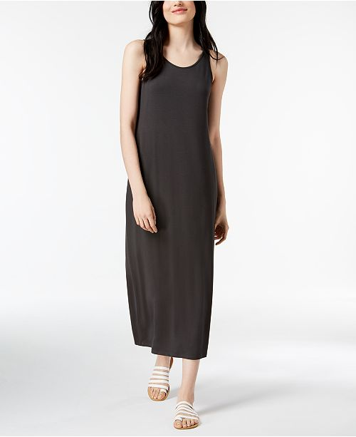 df065ce8d29 Eileen Fisher Stretch Jersey Maxi Dress   Reviews - Dresses - Women ...