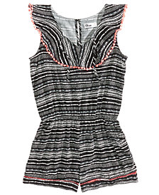 Epic Threads Geo-Print Romper, Big Girls, Created for Macy's