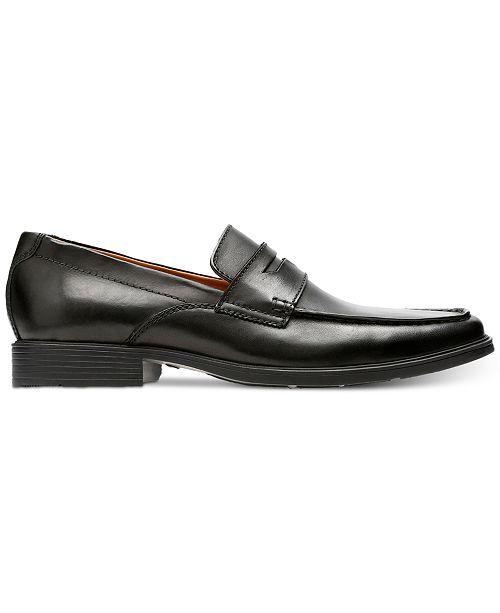 6bb6ca2c09d Clarks Men s Tilden Way Leather Penny Loafers   Reviews - All Men s ...