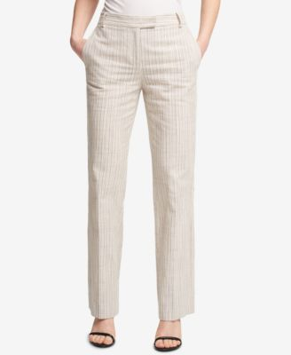 Striped Bootcut Pants, Created for Macy's