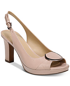 Naturalizer Ferris Peep-Toe Pumps