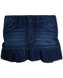 Levi's® Cotton Denim Scooter Skirt, Toddler Girls