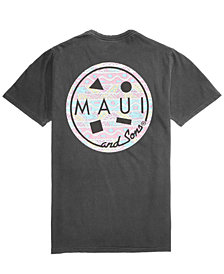 Maui and Sons Men's Retro Cookie Graphic T-Shirt