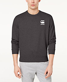 G-Star RAW Men's Doax Logo-Print Sweater