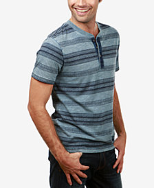 Lucky Brand Men's Striped Henley