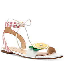 Katy Perry Jessie Lemonade Flat Sandals