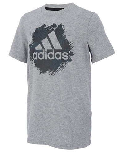adidas Logo-Print T-Shirt, Toddler Boys