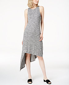 Bar III Asymmetrical Knit Dress, Created for Macy's