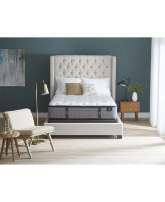 """by Aireloom 14.25"""" Vitagenic Memory Foam Ultra Plush Luxetop Mattress - Twin, Created for Macy's"""