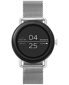 Skagen Unisex Falster Stainless Steel Mesh Bracelet Touchscreen Smart Watch 42mm