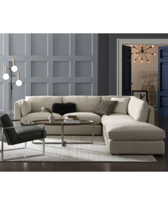 Kala 94'' Fabric Grand Sofa