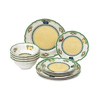 Villeroy & Boch French Garden 12-Pc. Dinnerware Set for 4