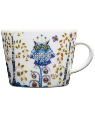 Taika White Teacup