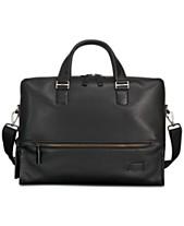 Tumi Men s Harrison Horton Double-Zip Leather Briefcase e8da8e9c927a2