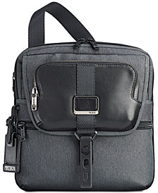 Tumi Men's Alpha Bravo Arnold Flap Crossbody Bag