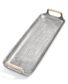 Lucky Brand Small Silver-Tone Serving Tray, Created for Macy's