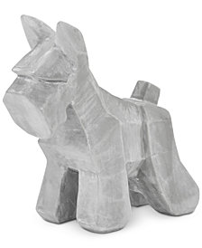 Madison Park Scottish Terrier Large Silver Figurine