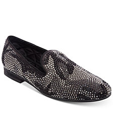 Steve Madden Men's Recruit Embellished Smoking Slippers