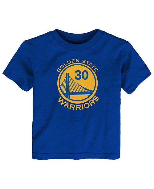 9453b048f34c1 Nike Stephen Curry Golden State Warriors Replica Name   Number T-Shirt