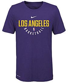 Nike Los Angeles Lakers Elite Practice T-Shirt, Big Boys (8-20)