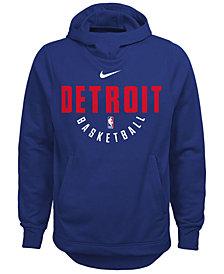 Nike Detroit Pistons Elite Practice Hoodie, Big Boys (8-20)