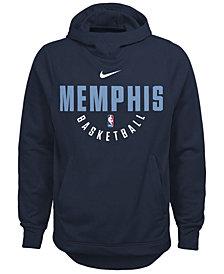 Nike Memphis Grizzlies Elite Practice Hoodie, Big Boys (8-20)