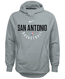 Nike San Antonio Spurs Elite Practice Hoodie, Big Boys (8-20)