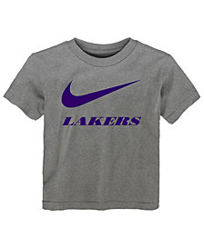 Nike Los Angeles Lakers Swoosh Team T-Shirt, Toddler Boys (2T-4T)